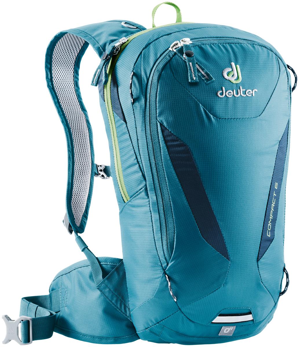 "Рюкзак туристический Deuter ""Compact"", цвет: синий, темно-синий, 6 л"