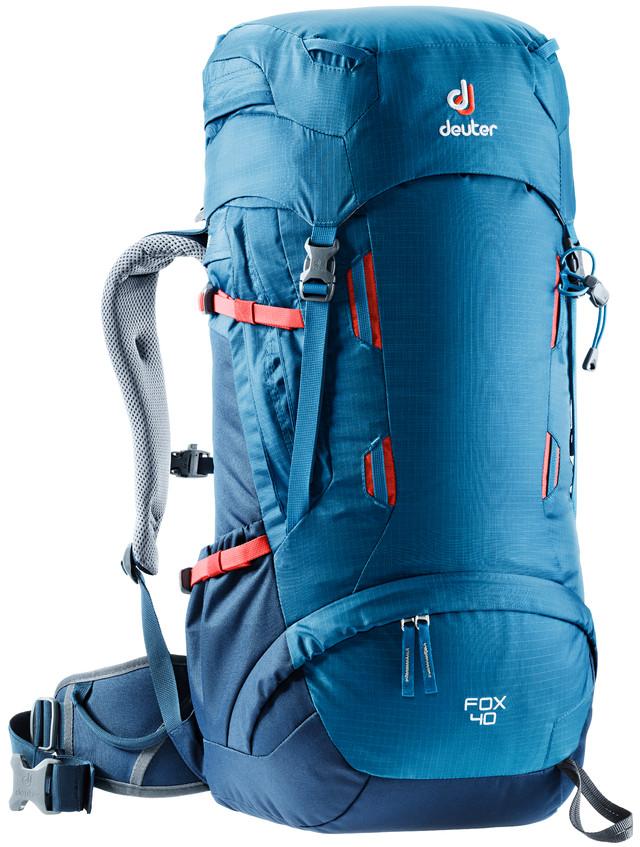 Рюкзак туристический Deuter Fox, цвет: синий, 40 л