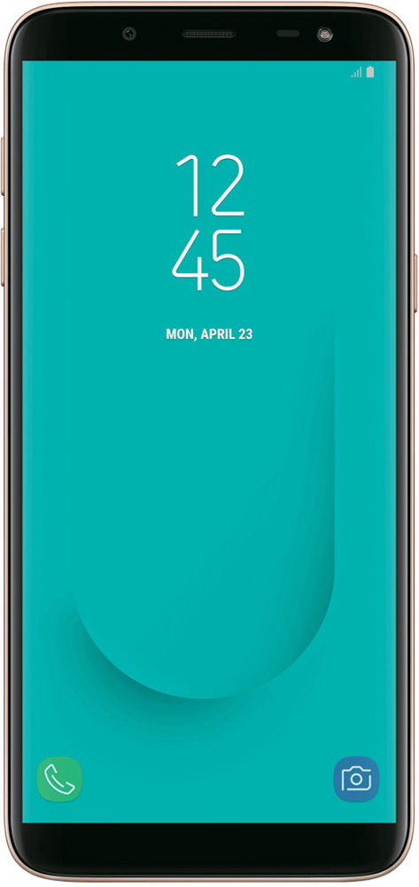Смартфон Samsung Galaxy J6 3/32GB, золотой samsung серии