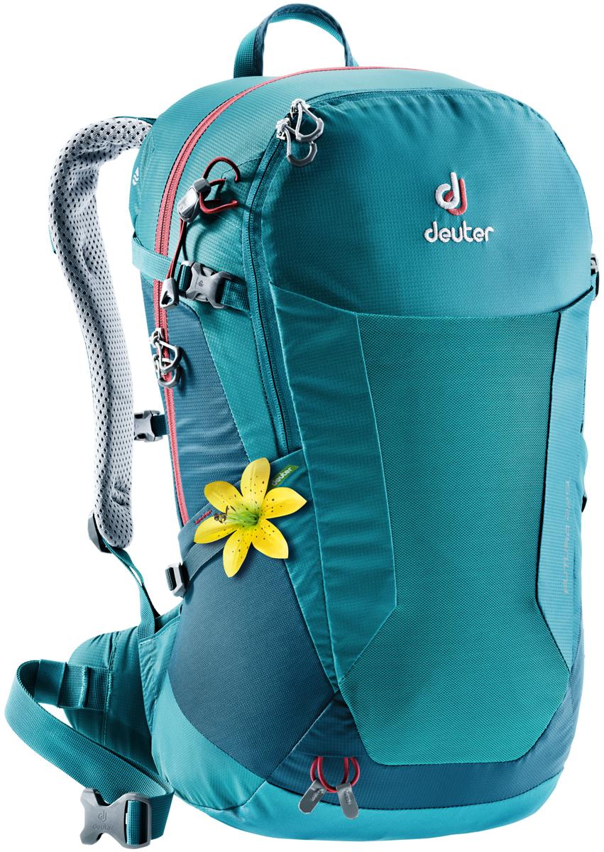 Рюкзак туристический Deuter Futura, цвет: голубой, темно-синий, 22 л