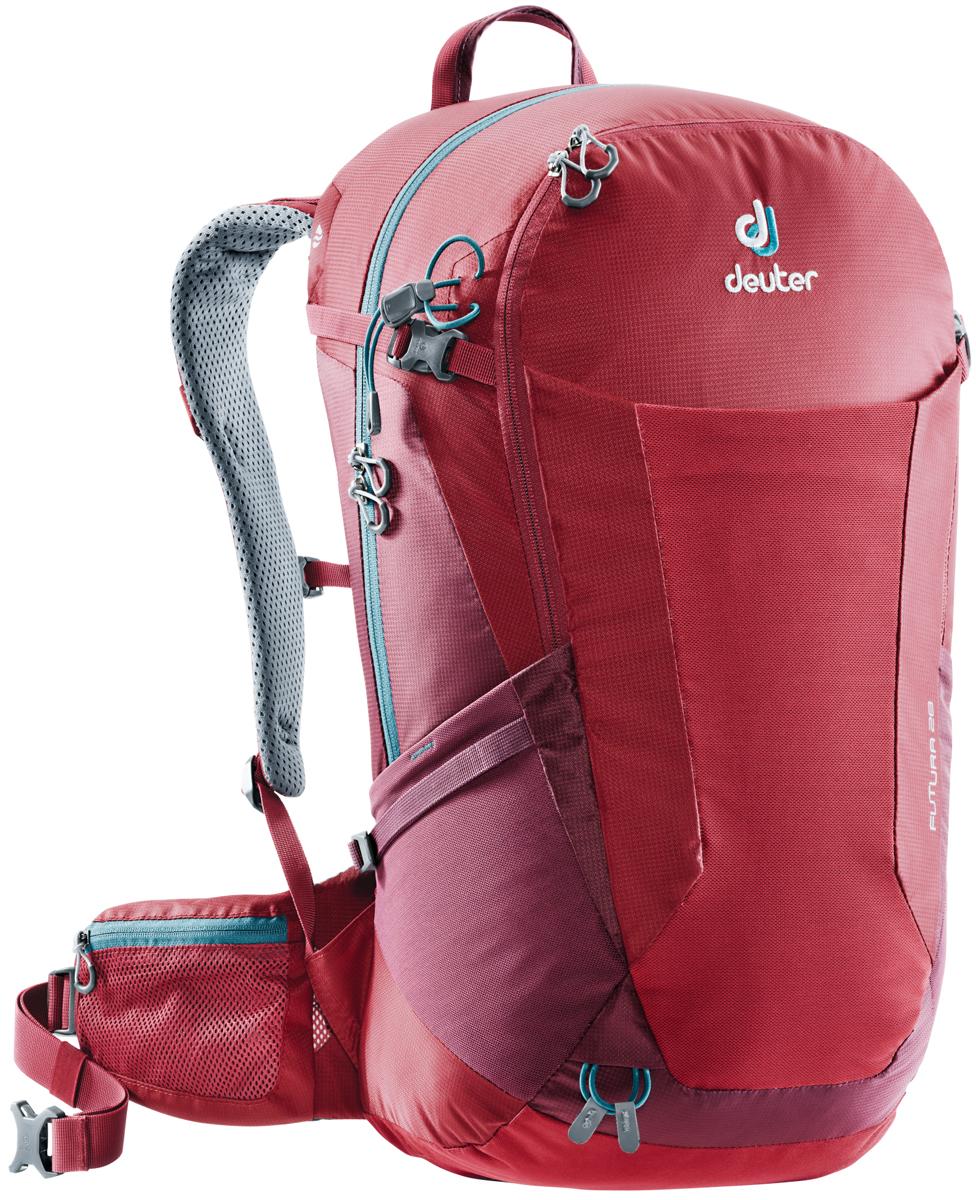 Рюкзак туристический Deuter Futura, цвет: красный, 28 л. 3400518_5528