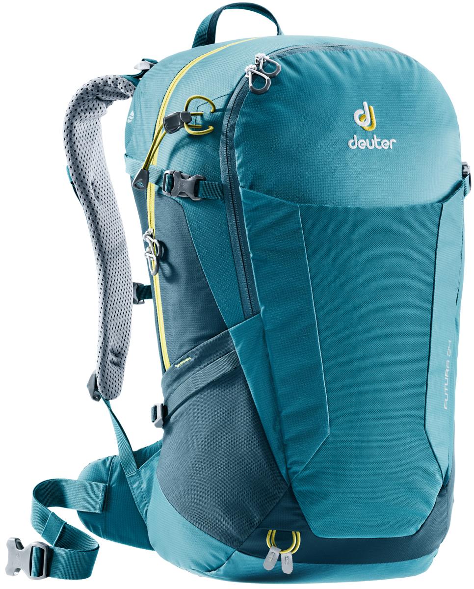 Рюкзак туристический Deuter Futura, цвет: темно-синий, 24 л