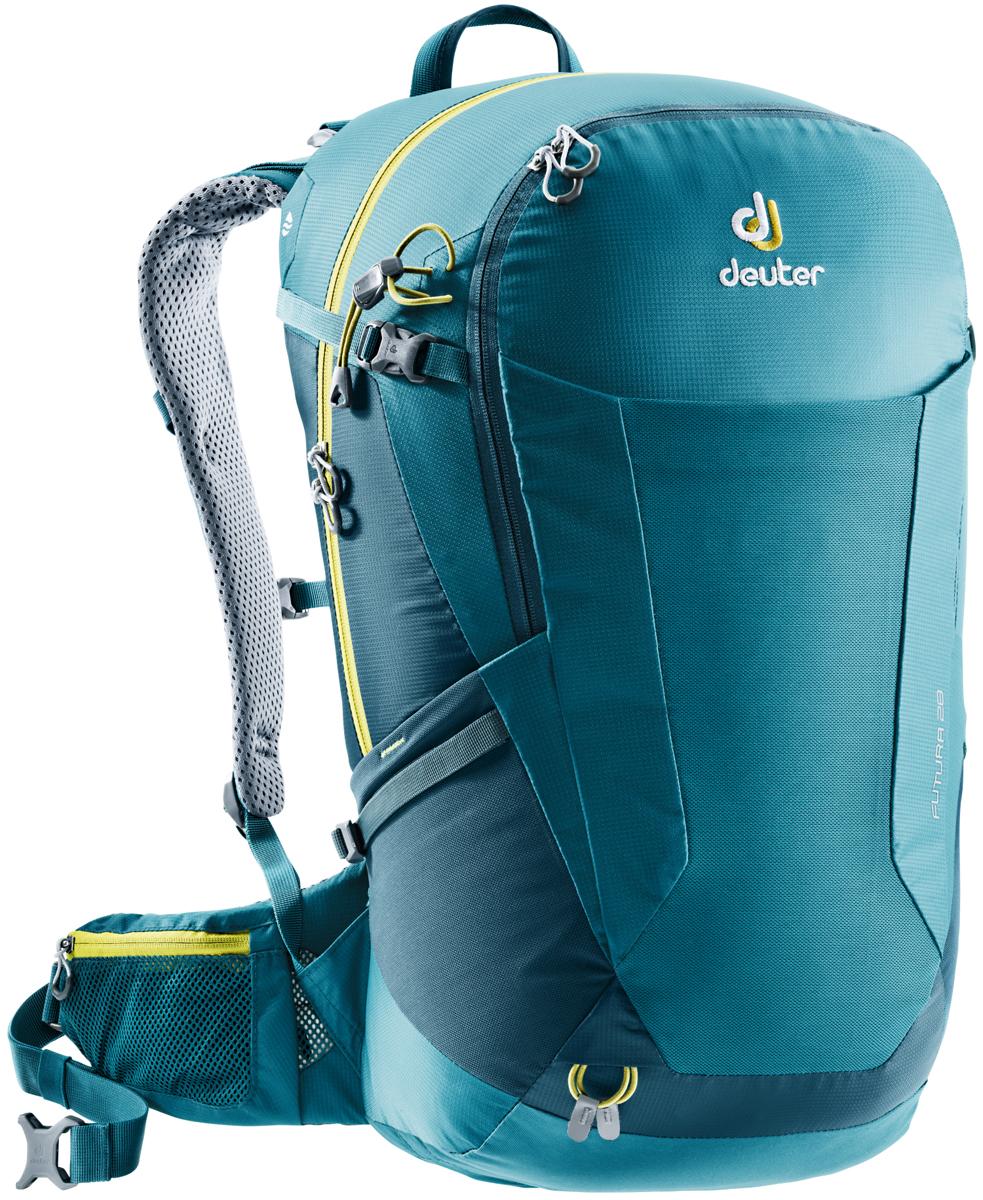 Рюкзак туристический Deuter Futura, цвет: темно-синий, 28 л
