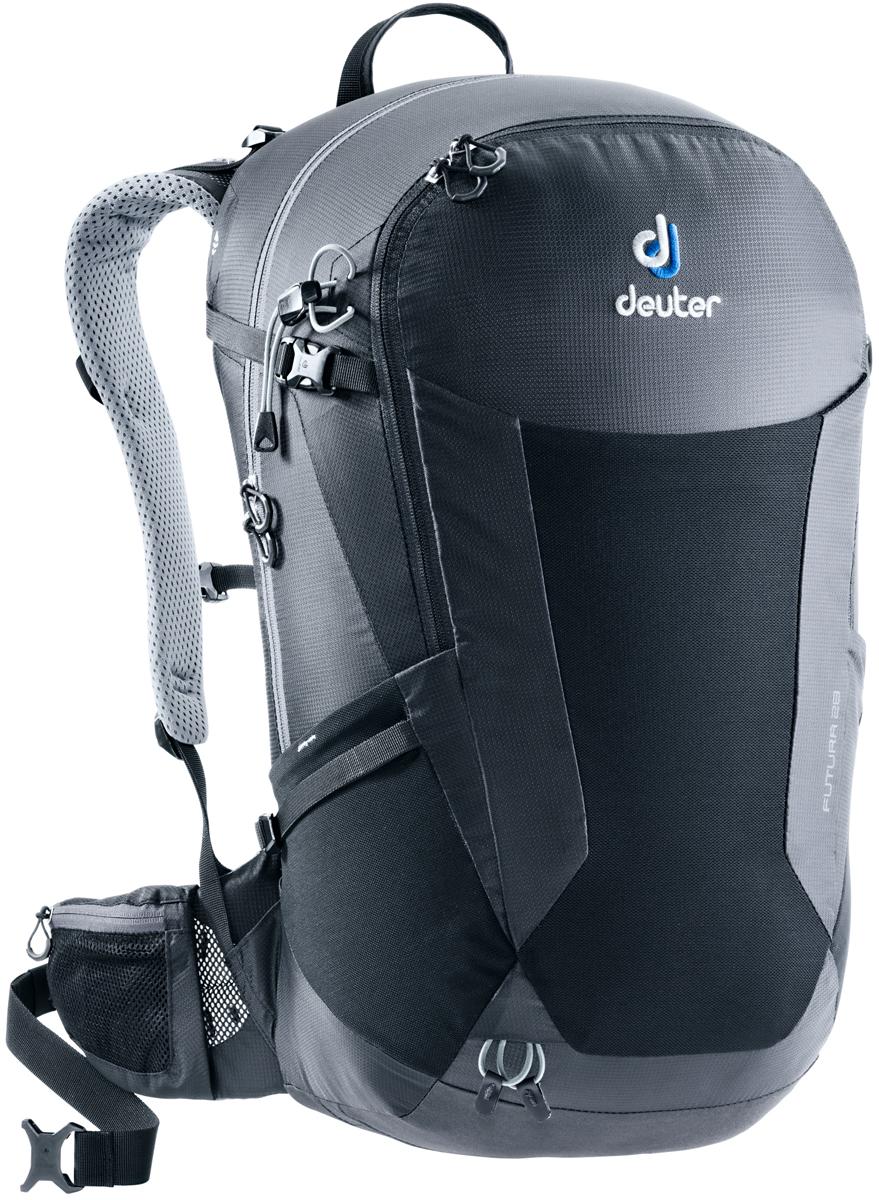 Рюкзак туристический Deuter Futura, цвет: черный, 28 л