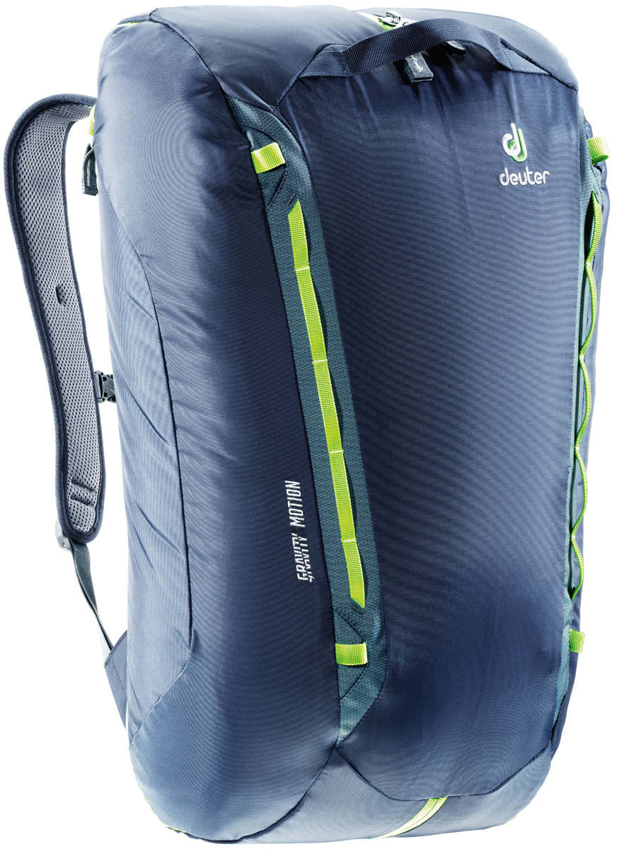 Рюкзак туристический Deuter Gravity Motion, цвет: темно-серый, темно-синий, 35 л