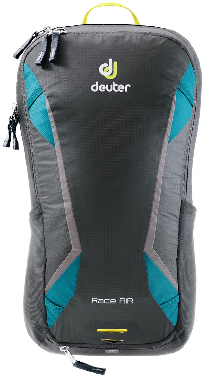 Рюкзак туристический Deuter Race, цвет: голубой, темно-серый, 10 л