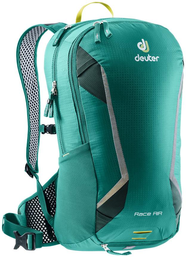 Рюкзак туристический Deuter Race, цвет: салатовый, зеленый, 10 л