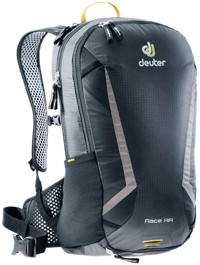 Рюкзак туристический Deuter Race, цвет: черный, 10 л