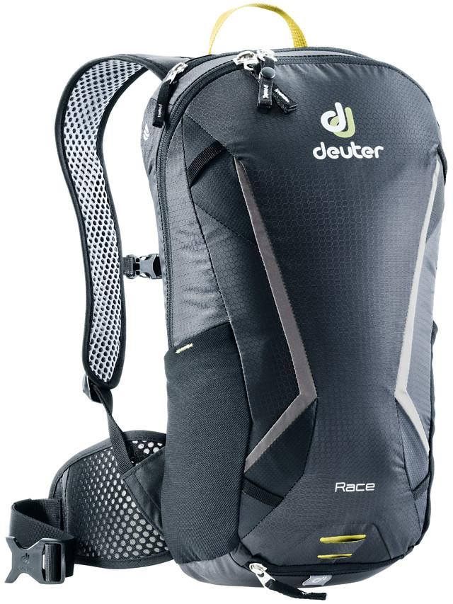 Рюкзак туристический Deuter Race, цвет: черный, 8 л