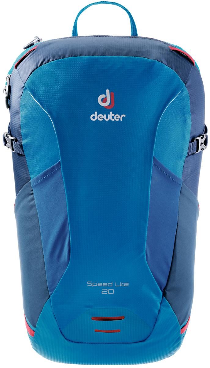 "Рюкзак туристический Deuter ""Speed Lite"", цвет: синий, темно-синий, 20 л"