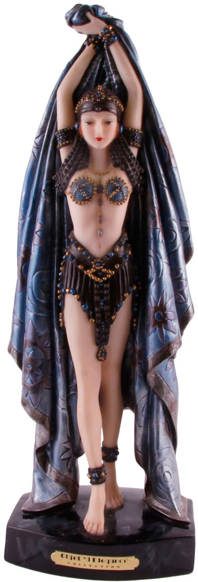 Статуэтка Танцовщица. Натуральный камень, композитный материал, резьба. Китай, конец XX века статуэтка albertini девушка с голубями высота 24 см