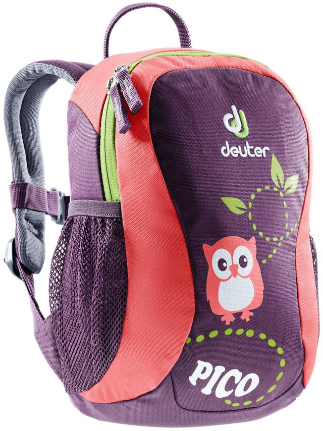 цена на Рюкзак городской Deuter Pico, цвет: коралловый, фиолетовый, 5 л