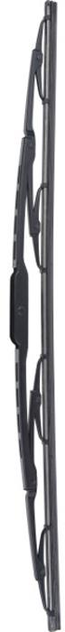 Щетка стеклоочистителя Rekzit Special, каркасная, 19/48 см910 480В щетках стеклоочистителей REKZIT четыре подвижных коромысла, надежно соединенных и плотно прилегающих к стеклу в шести точках. Давление на резиновую ленту равномерно распределяется, что предотвращает ее преждевременный износ. Поверхность стекла очищается наилучшим образом, на нем не остается видимых капель и потеков. При движении по изогнутому стеклу коромысла поворачиваются, и давление остается постоянным.