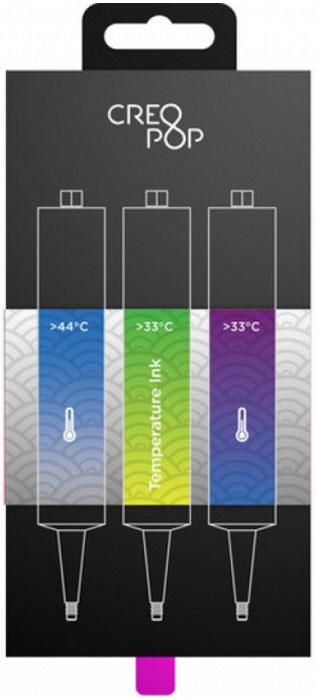 CreoPop SKU008, Blue Green Purple чернила для 3D ручки creopop ink 3d printer pen plastic pla filament set petg rods moscow cheap russia delivery temperature purple pink orange