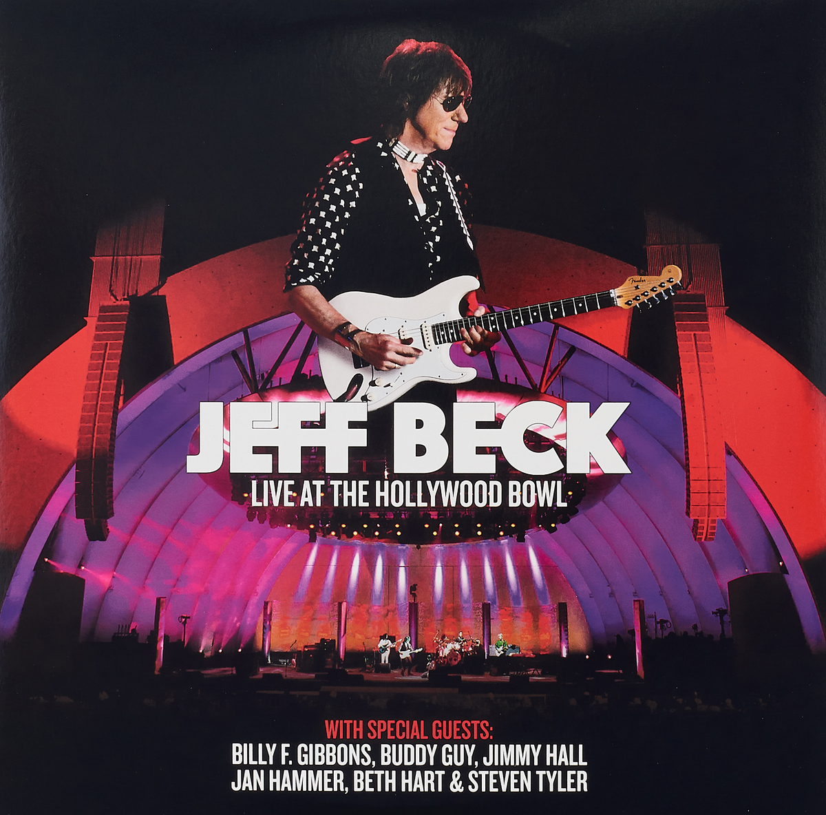 лучшая цена Джефф Бек Jeff Beck. Live At The Hollywood Bowl (3 LP)