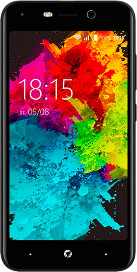 Смартфон BQ Mobile 5008L Brave 2/16GB, черный смартфон bq bq 5008l brave lte gold