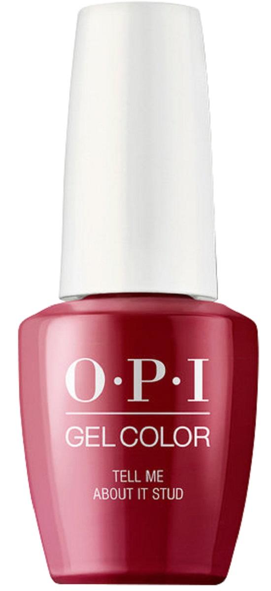 OPI GelColor Гель-лак для ногтей Tell Me About It Stud, 15 мл opi гель для ногтей колор gcb56a mod about you 15 мл