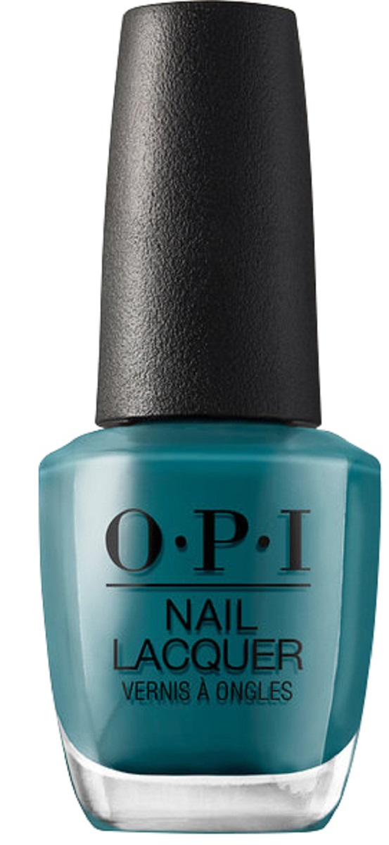 OPI Nail Lacquer Лак для ногтей Teal Me More, Teal Me More, 15 мл opi infinite shine nail lacquer from here to eternity 15 мл