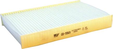 Фильтр салонный пылевой Big filter GB-9969