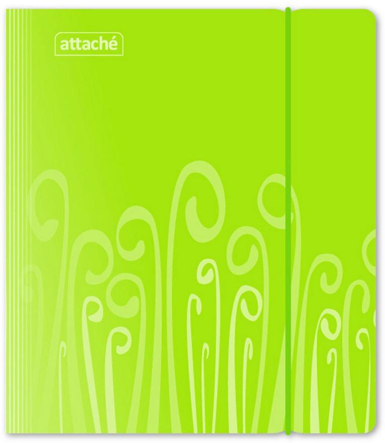 Attache Тетрадь Fantasy 120 листов в клетку А5 цвет зеленый блокнот attache fantasy a6 80 листов orange 309371