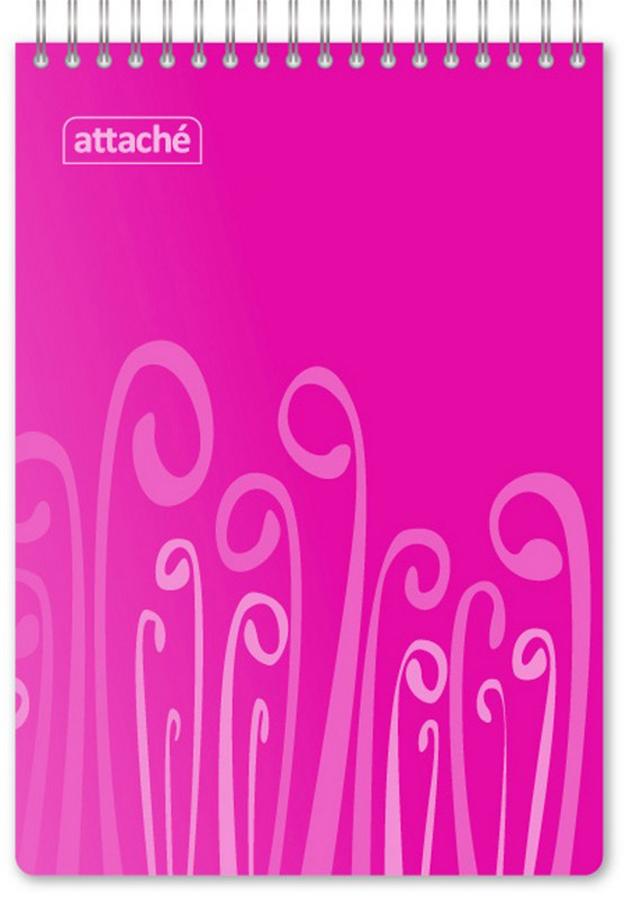 Attache Блокнот Fantasy 80 листов формат А5 цвет розовый attache блокнот fantasy 80 листов формат а6 цвет оранжевый