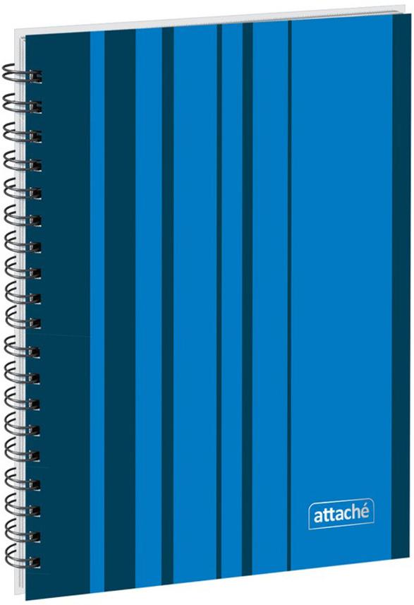 Attache Тетрадь Сoncept 120 листов в клетку формат А5 цвет синий