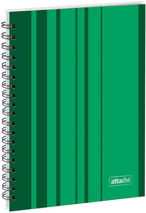 Attache Тетрадь Сoncept 120 листов в клетку формат А5 цвет зеленый