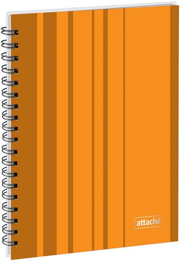 Attache Тетрадь Сoncept 120 листов в клетку формат А5 цвет оранжевый