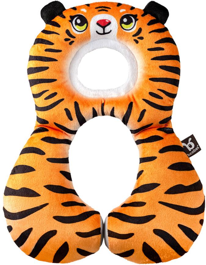 BenBat Подушка для путешествий Тигр 1-4 годаHR304Подушка для путешествий BenBat Тигр для детей от 1 до 4 лет. Подушка имеет удобный и мягкий подголовник, который обеспечивает поддержку головы и шеи во время движения. Специальные магниты, соединяющие боковины подушки, обеспечивают ее правильное прилегание и комфортное положение головы ребенка вне зависимости от продолжительности путешествия. Двухсторонняя: с одной стороны - плюшевый материал, с другой - нежный хлопок.Машинная стирка в холодной воде до 30°C.