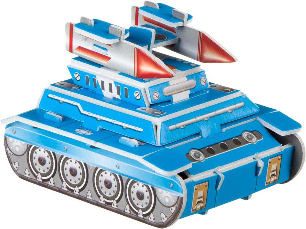 Bondibon Сборная 3D модель Танк цвет синий цены онлайн