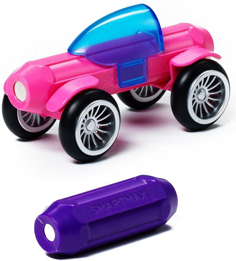 Bondibon Smartmax Конструктор магнитный Специальный набор Розовый и фиолетовый