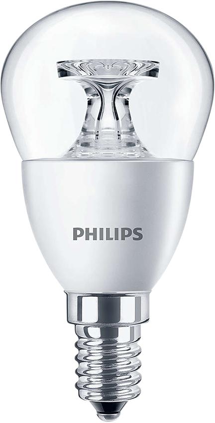 Лампа светодиодная Philips Premium, цоколь E14, 5,5W, 2700К люминесцентные лампы для растений philips