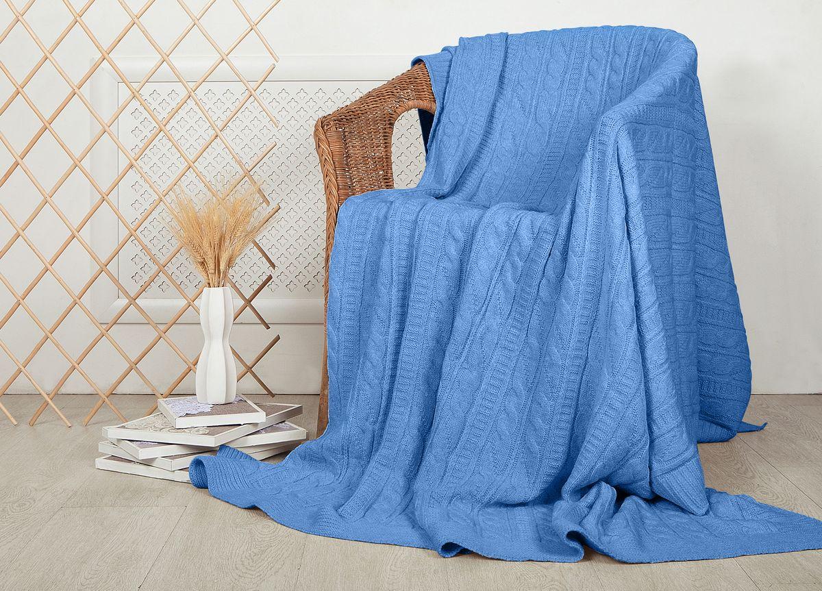 Плед ТД Текстиль Mel Sonn, цвет: голубой, 220 х 240 см3805Плед ТД Текстиль с маркировкой Mel Sonn - это идеальное решение для вашего интерьера. Плед, выполненный из 70% шерсти и 30% акрила, порадует вас легкостью и нежностью. Плед - это такой подарок, который будет всегда актуален, особенно для ваших родных и близких, ведь вы дарите им частичку своего тепла! Рекомендуем!