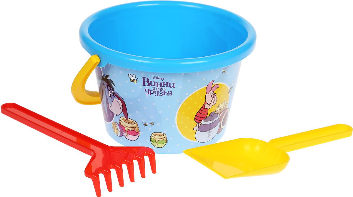 Disney Набор игрушек для песочницы Винни и его друзья №5, 3 предмета, цвет в ассортименте disney набор игрушек для песочницы винни и его друзья 4