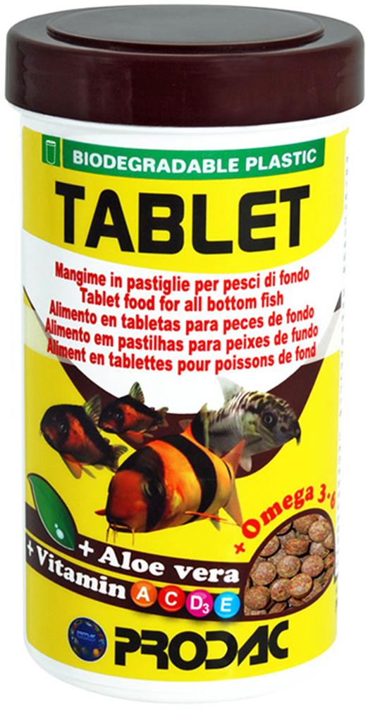 Корм сухой Prodac Tablet, для аквариумных пресноводных рыб, в таблетках, 30 г витамины в таблетках