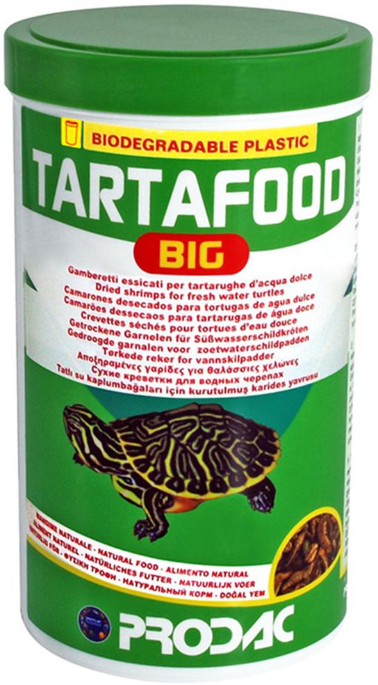 Корм сухой Prodac Tartafood Big, для водных черепах, 150 г корм аква меню терра для водных черепах в виде плавающих гранул 15 г