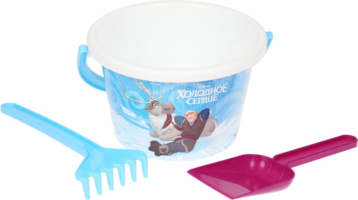 Disney Набор игрушек для песочницы Холодное сердце №5, 3 предмета, цвет в ассортименте