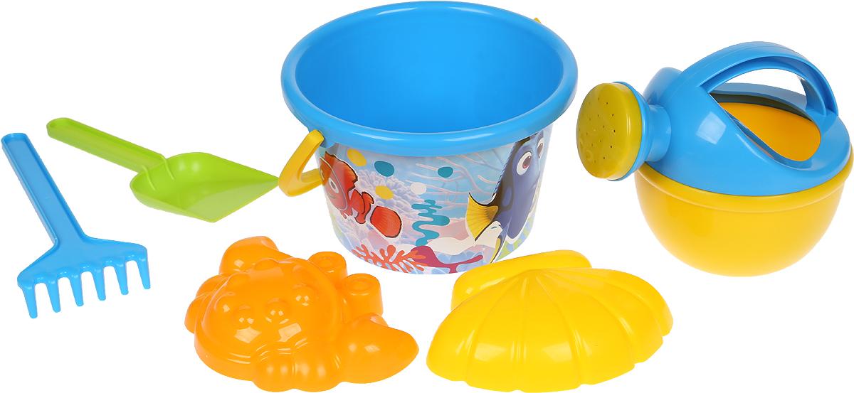 Disney / Pixar Набор игрушек для песочницы В поисках Немо №8, 6 предметов, цвет в ассортименте