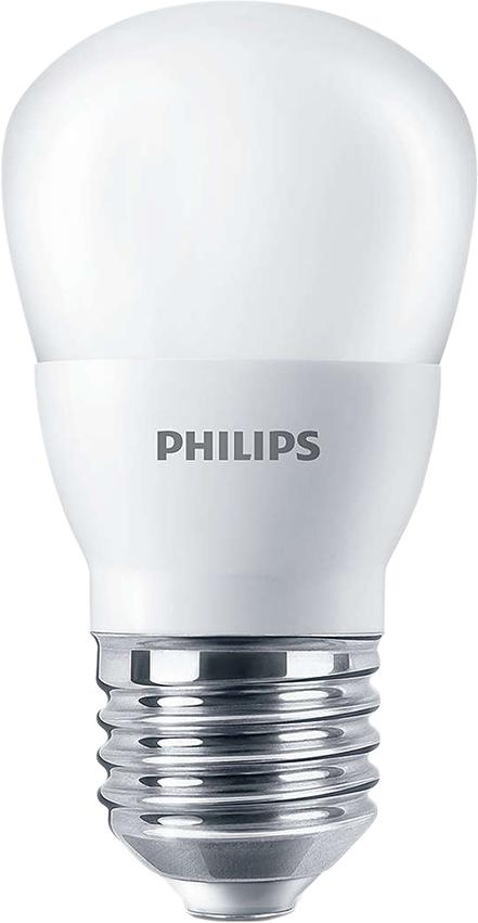 Лампа светодиодная Philips Premium, цоколь E27, 4W, 3000KЛампа LEDBulb 4-40W E27 3000K 230V P45Светодиодные лампы Philips излучают приятный свет, комфортный для ваших глаз, отличаются невероятно долгим сроком службы и позволяют экономить электроэнергию с первого дня использования. Со светодиодными лампами Philips вы можете быть уверены, что освещение будет комфортным. Наши светодиодные лампы тестируются в лаборатории и дают свет, который не напрягает глаза. Все лампы проходят лабораторные испытания и безопасны для глаз. Компанией Philips разработаны критерии комфорта, они гарантируют, что каждая светодиодная лампа соответствует стандартам освещения. Взрослые и дети всё больше времени проводят в помещении с искуственным освещением. Позаботьтесь о том, чтобы домашнее освещение было безопасным и комфортным. Выбирайте светодиодные лампы Philips. Современные светодиодные лампы Philips Premium экономичны, имеют долгий срок службы и мгновенно загораются, заполняя комнату светом. Лампа классической формы и высокой яркости позволяет создать уютную и приятную обстановку в любой комнате вашего дома. Светодиодные лампы потребляют на 90% меньше электроэнергии, чем обычные лампы накаливания, излучая при этом привычный и приятный свет. Срок службы светодиодной лампы Philips Premium составляет до 15 000 часов, что соответствует общему сроку службы пятнадцати ламп накаливания. Благодаря чему менять лампы приходится значительно реже, что сокращает количество отходов. Напряжение: 220-240 В. Световой поток: 350 lm. Эквивалент мощности в ваттах: 40 Вт. Рекомендуем!
