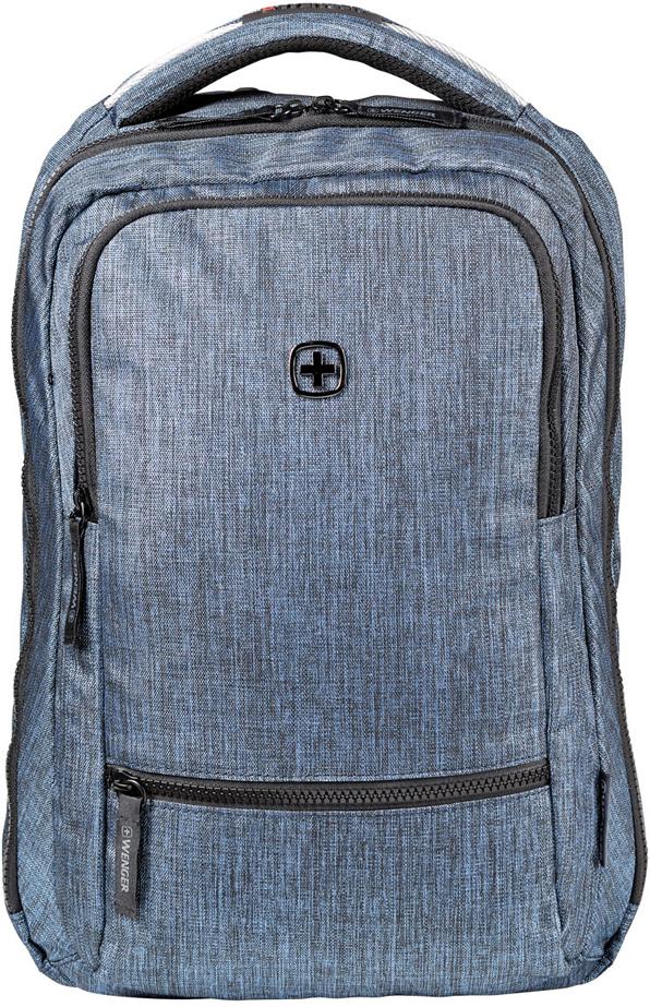 Рюкзак для ноутбука Wenger Rotor, 14'', цвет: синий, 14 л рюкзак wenger 14 inch blue 605200