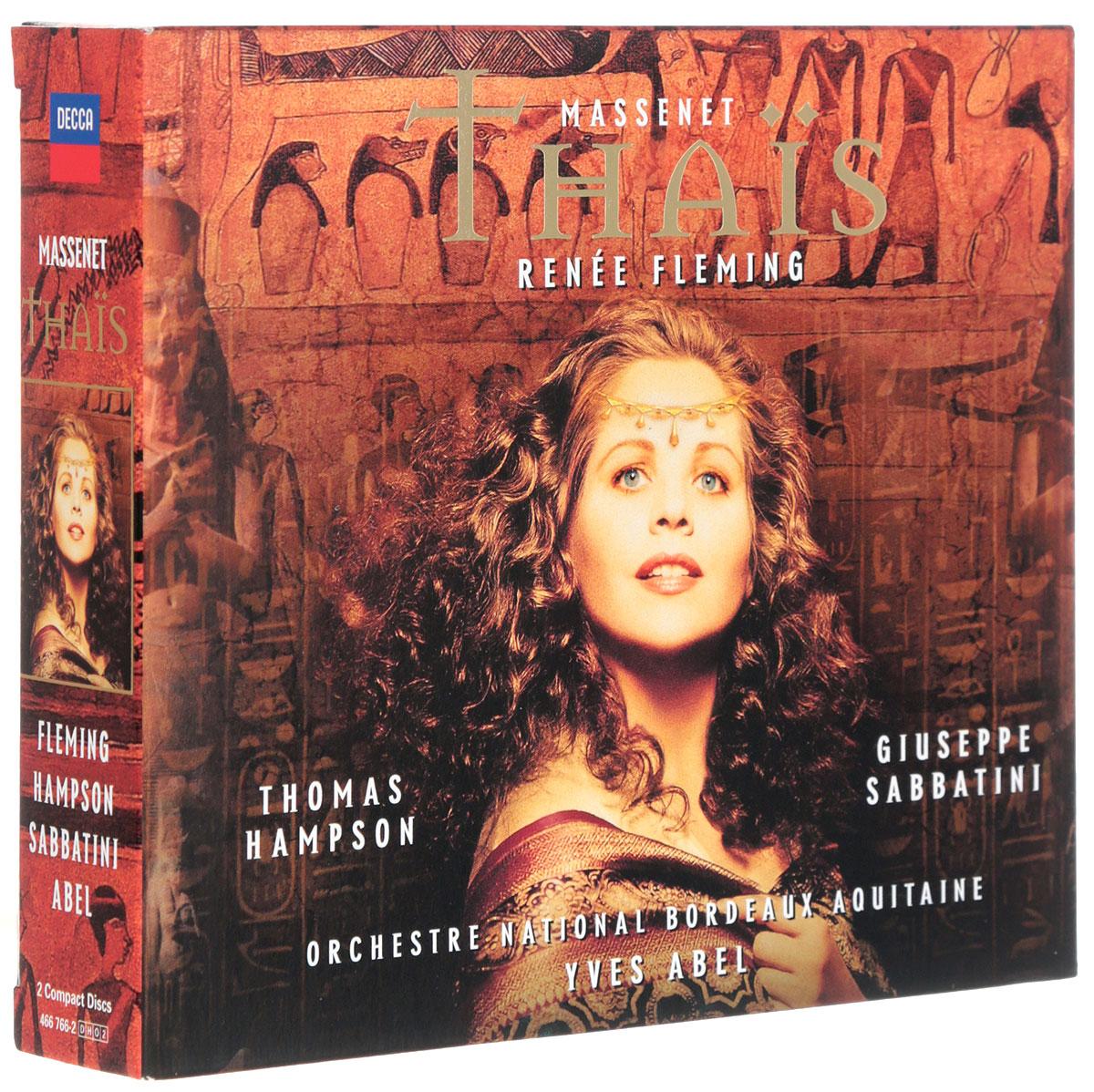 Ив Абель Yves Abel. Massenet Thais (2 CD) massenet cendrillon 2 dvd