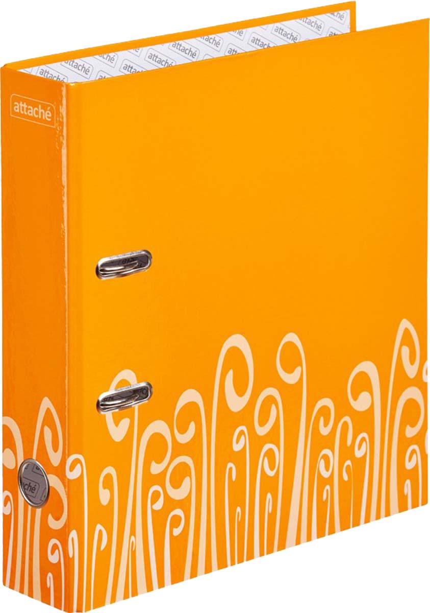 Attache Папка-регистратор с арочным механизмом Fantasy обложка 75 мм цвет оранжевый блокнот attache fantasy a6 80 листов orange 309371
