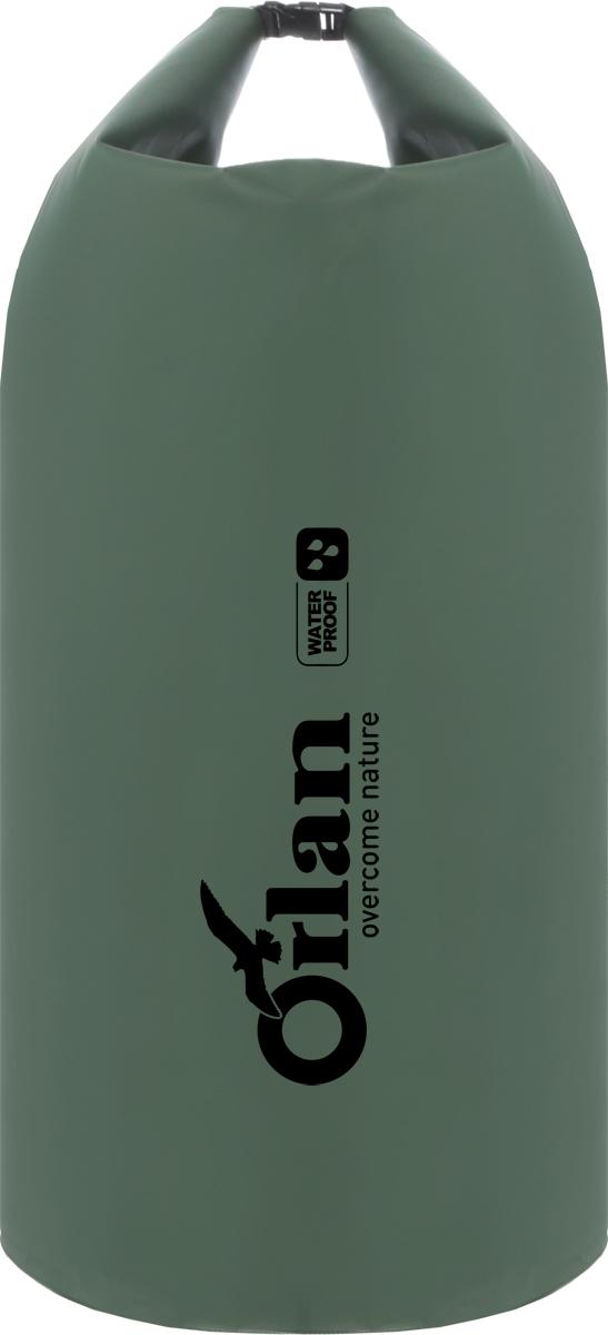 Гермомешок Orlan Экстрим, цвет: темно-зеленый, 100 л