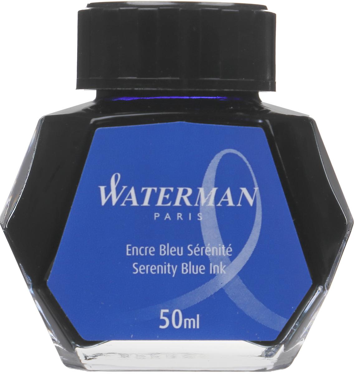 Waterman Чернила цвет синий 50 мл