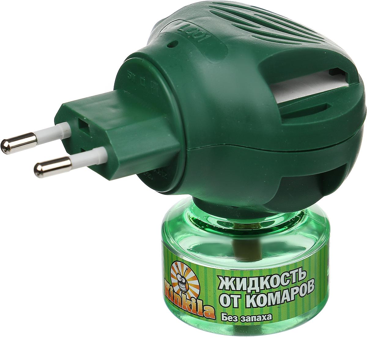 Средство от комаров Kinkila 45 ночей, с фумигатором off clip on средство от комаров цена
