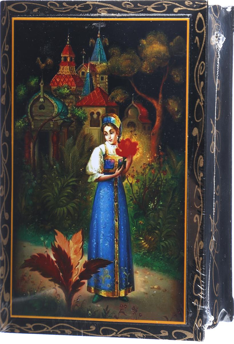 Кремлина Аленький цветочек шкатулка подарочная чернослив шоколадный с грецким орехом, 150 г кремлина гагарин ю а чернослив шоколадный с грецким орехом конфеты 150 г