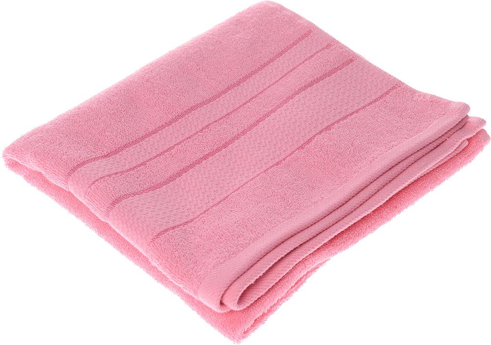 """Полотенце махровое Aisha Home Textile """"Классика"""", цвет: розовый, 50 х 90 см"""