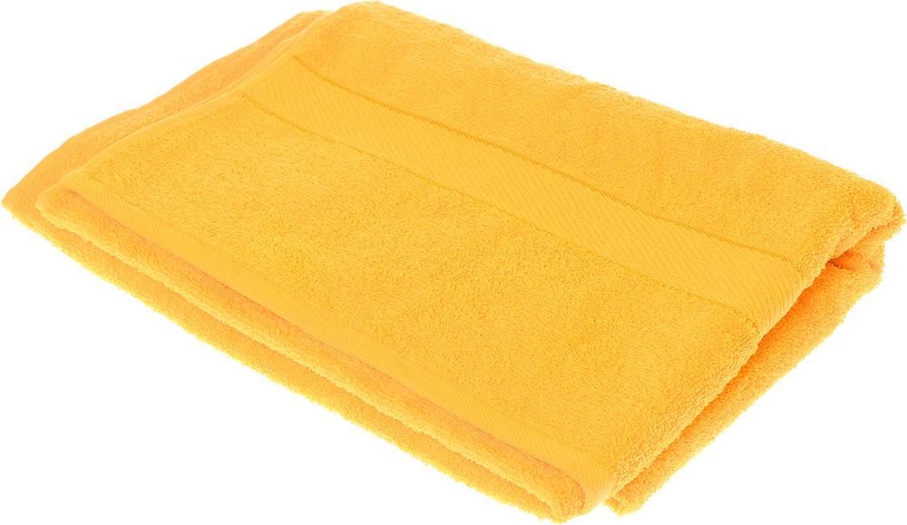 """Полотенце махровое Aisha Home Textile """"Колосок"""", цвет: желтый, 70 х 140 см"""