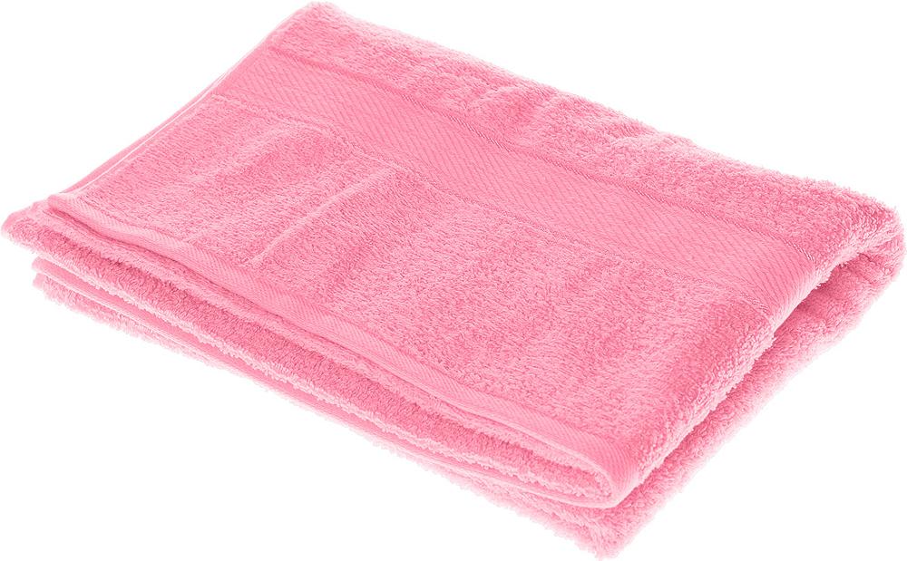 """Полотенце махровое Aisha Home Textile """"Колосок"""", цвет: розовый, 70 х 140 см"""