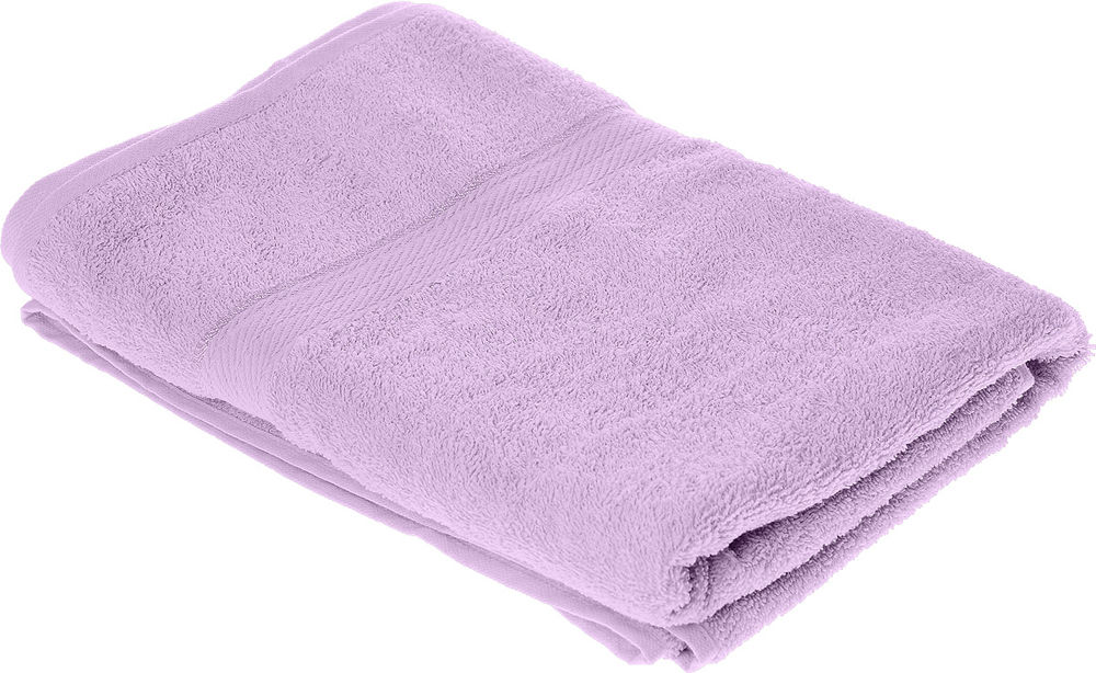 """Полотенце махровое Aisha Home Textile """"Колосок"""", цвет: сиреневый, 70 х 140 см"""